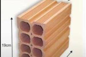 Bloco e tijolos ceramicos