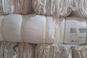 Big bags lavados e higienizado de um só uso