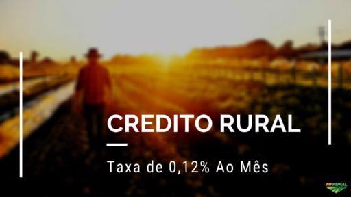 SOLUÇÕES FINANCEIRAS COM TAXA DE 0,12% MÊS