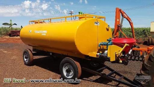 Carreta Tanque 6.400 Litros Novo com bomba Nova Andrade
