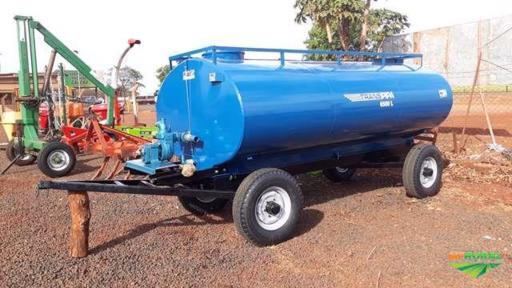 Carreta Tanque 6.500 Litros Novo com bomba Nova Andrade Nova
