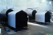Caldeiras de 500 a 10 ton, a gás, lenha e óleo. fabricamos fornalha sob encomendas