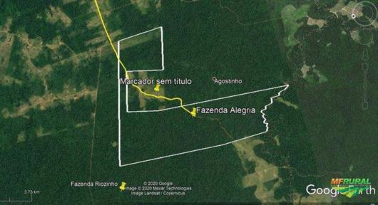 Fazenda 1.750ha em Rio Branco/AC