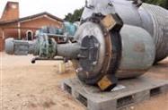 Reator em aço inox 316L cap 500 litros