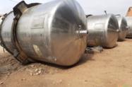 Misturador em aço inox 316L Cap 5 mil litros