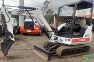 Mini escavadeira marca bob cat mod 325 2011