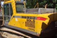 Escavadeira marca SDLG mod 6225 ano 2014