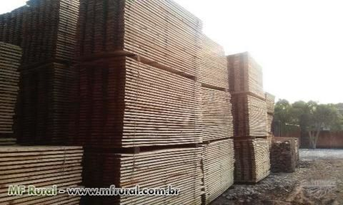 Madeira de Pinus Serrada