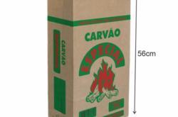 Embalagem Papel Saco P/ Carvão Especial Kraft 5kg - 100 unidades