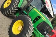 Trator John Deere 6165 4x4 ano 11
