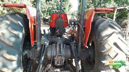 Trator Massey Ferguson 292 Turbo 4x4 ano 00