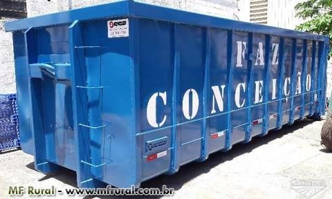 CONTAINER CAIXA ROLL ON ROLL OFF