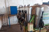 Pulverizador pressurizado para catação