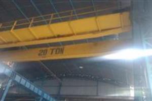 Vendo Ponte Rolante Demag 20 toneladas vão de 10 metros