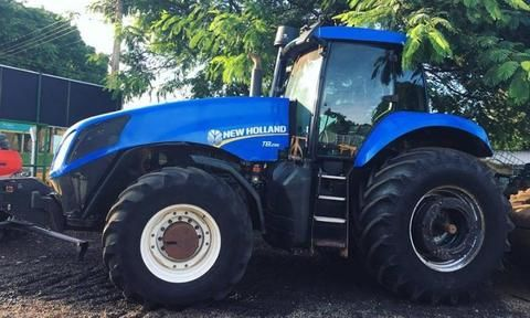 Trator New Holland T8.295 4x4 ano 13