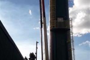 Plataforma pantográfica de 22 metros