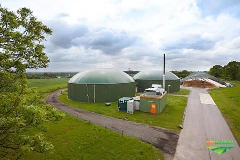 Energia e biogás