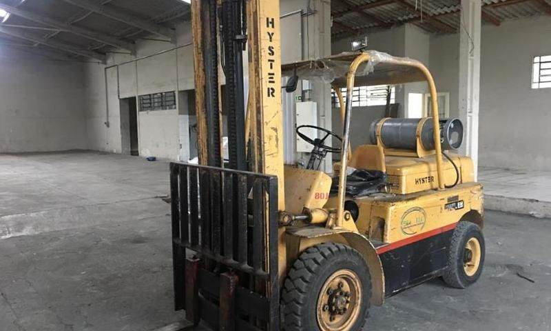 Empilhadeira Hyster H80J - 4 tons