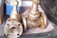 Válvula de aço inox com