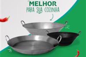 Tacho Beira Baixa Aço Carbono Polido N. 14