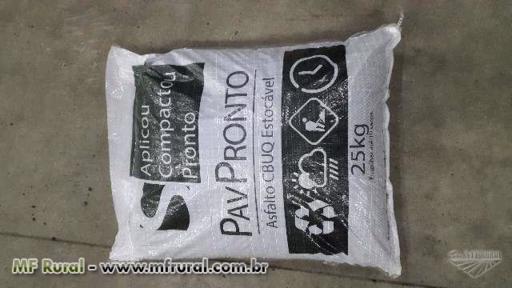 Sacos de Asfalto PavPronto 25KG