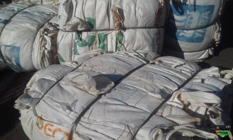 Compro Sucata de ráfia branca (big bag) - Plástico