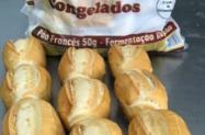 Congelados Pães e salgados