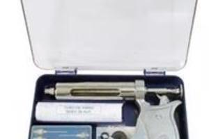 Vendo Estojo de Pistola de Vacinação + Agulhas 15x15