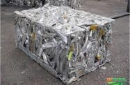 Compro sucata alumínio