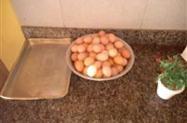 ovos caipira