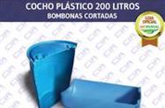 Cocho Plástico 100 Litros Bombona Cortada - RJ