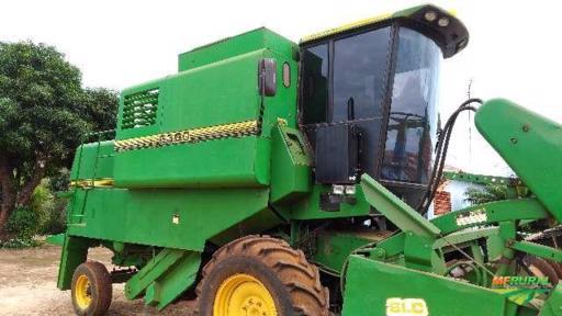 Trator John Deere 6300 4x2 ano 10
