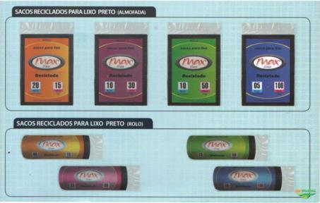Saco de silagem e outros produtos plasticos