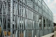 Barracao steel frame