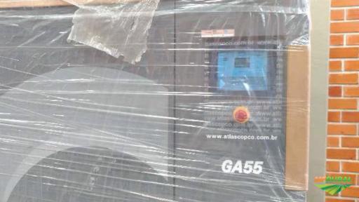 Compressor de ar Parafuso 75 HP- GA55AP100NEW - Atlas Copco