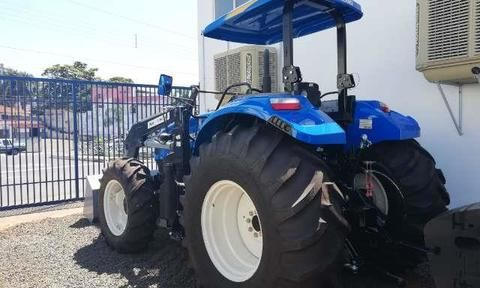Trator New Holland T6 110 4x4 ano 18