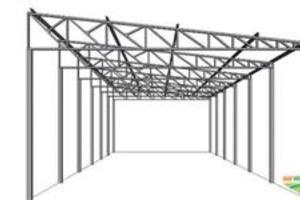 Estrutura Metálica - Galpao 12X25 Mts