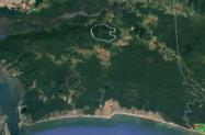 área de APP em garuva santa cataria