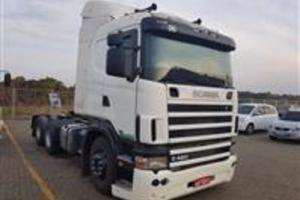 Caminhão Scania 124 420 ano 07