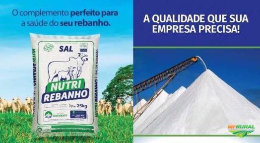 SAL BRANCO , NUTRI - REBANHO.