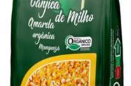 Canjica Amarela Orgânica Mungunzá pacote 500 gr