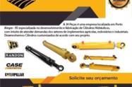 Cilindro Hidráulico para Tratores, Escavadeiras e Retroescavadeiras - Marca JH PEÇAS