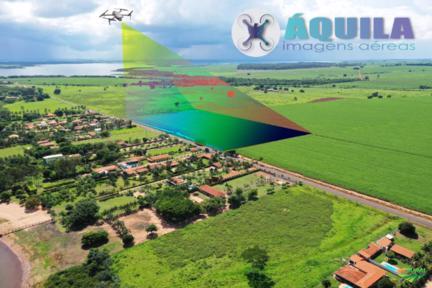 Georreferenciamento de imóveis rurais com Drone