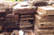 Madeira de demolição canela