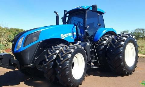Trator New Holland T8.385 4x4 ano 16
