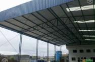 Barracão metálico, galpão industrial, mezanino, etc
