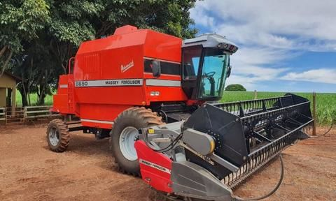 Colheitadeira Massey Ferguson 5650 Advanced