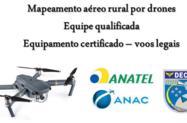 Serviço de mapeamento aéreo por drone