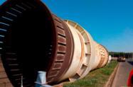 Descascador de Toras a tambor de grande porte Sadense