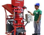 Máquina para tijolos ecológicos + destorrador